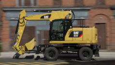 Der neue Cat M316F mit 16 bis 18 Tonnen Einsatzgewicht.