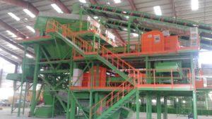 FHF Anlagentechnik mechanische Abfallsortierung