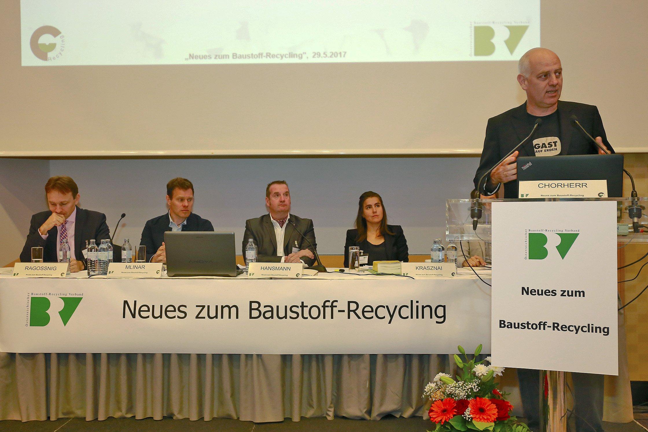 Baustoff-Recycling