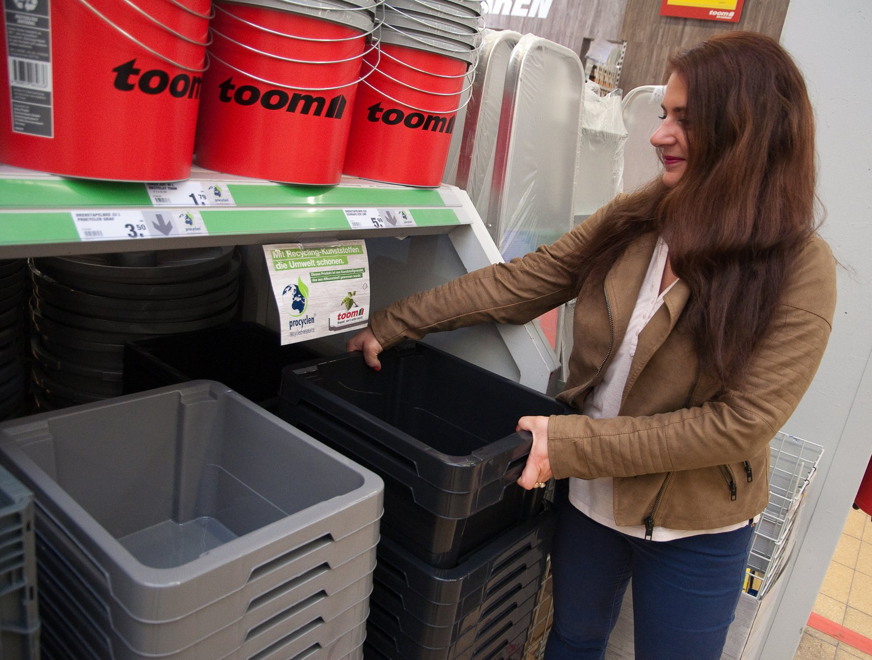 drehstapelbox aus procyclen_©toom baumarkt - recycling magazin