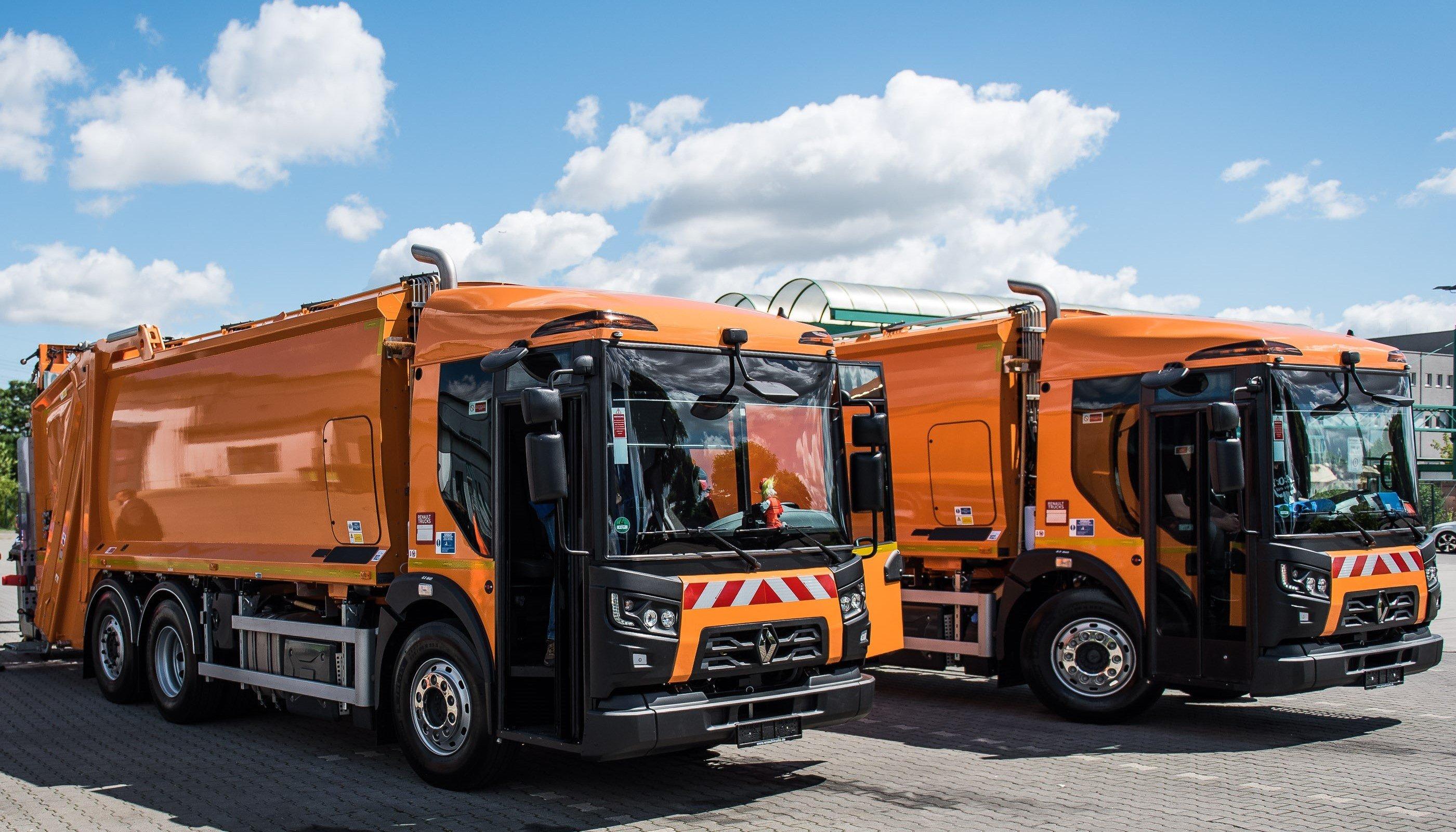 renault trucks d access f r berliner stadtreinigung recycling magazin. Black Bedroom Furniture Sets. Home Design Ideas