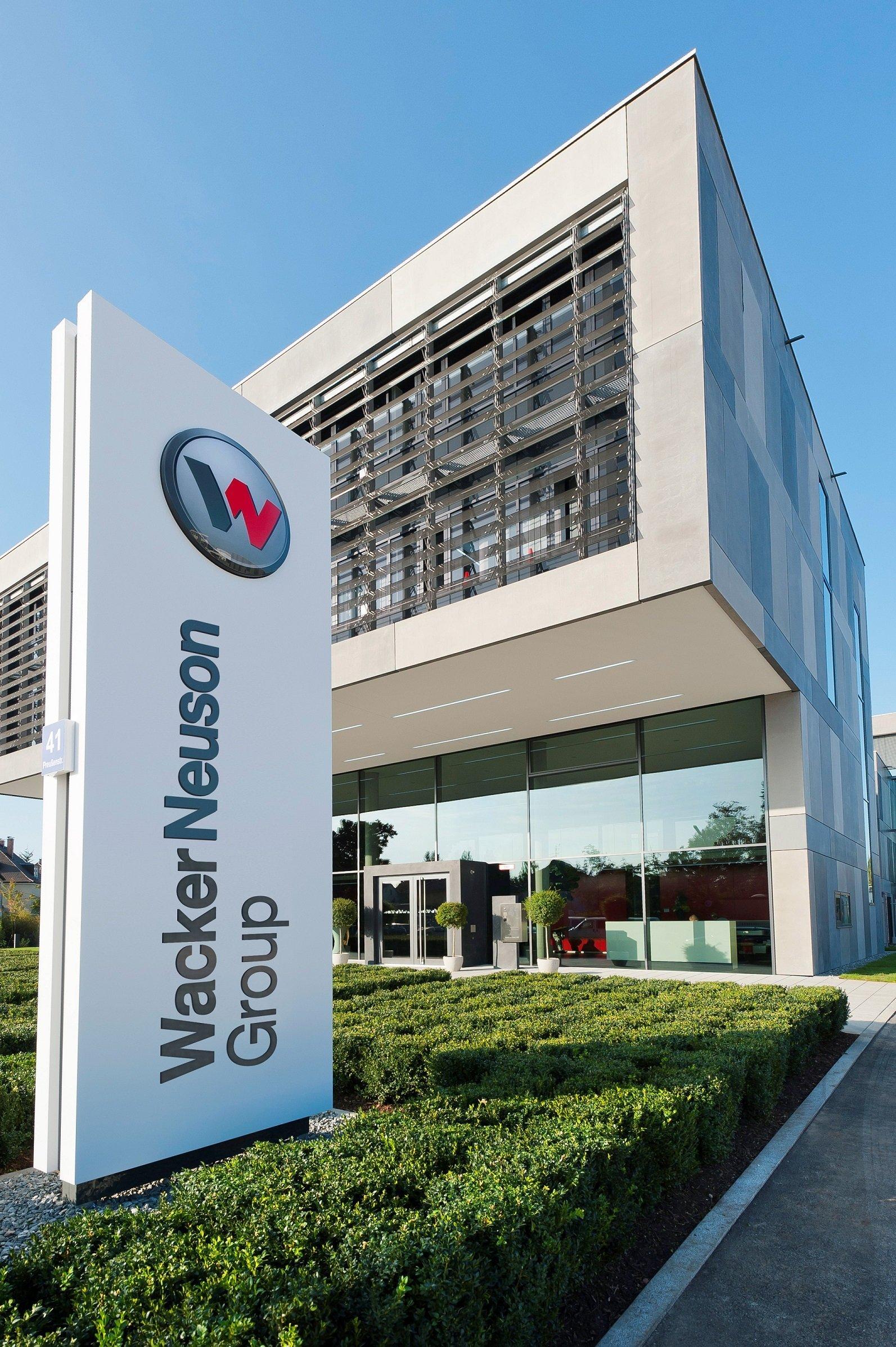 Wacker-Neuson-Zentrale (Foto: Wacker Neuson)