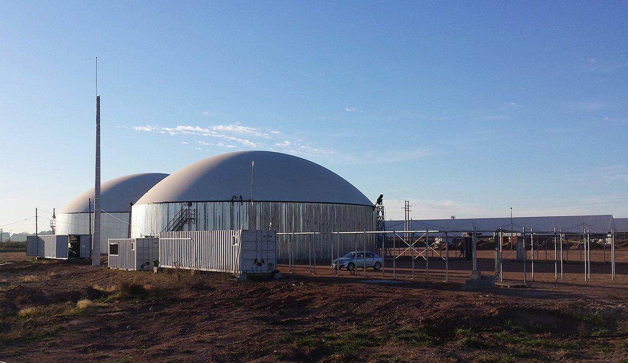 Bereits im Jahr 2013 hatte Weltec die erste 800-Kilowatt-Biogasanlage für EDL errichtet.