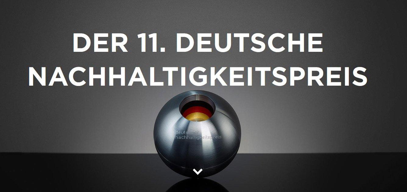 Screenshot http://www.nachhaltigkeitspreis.de/