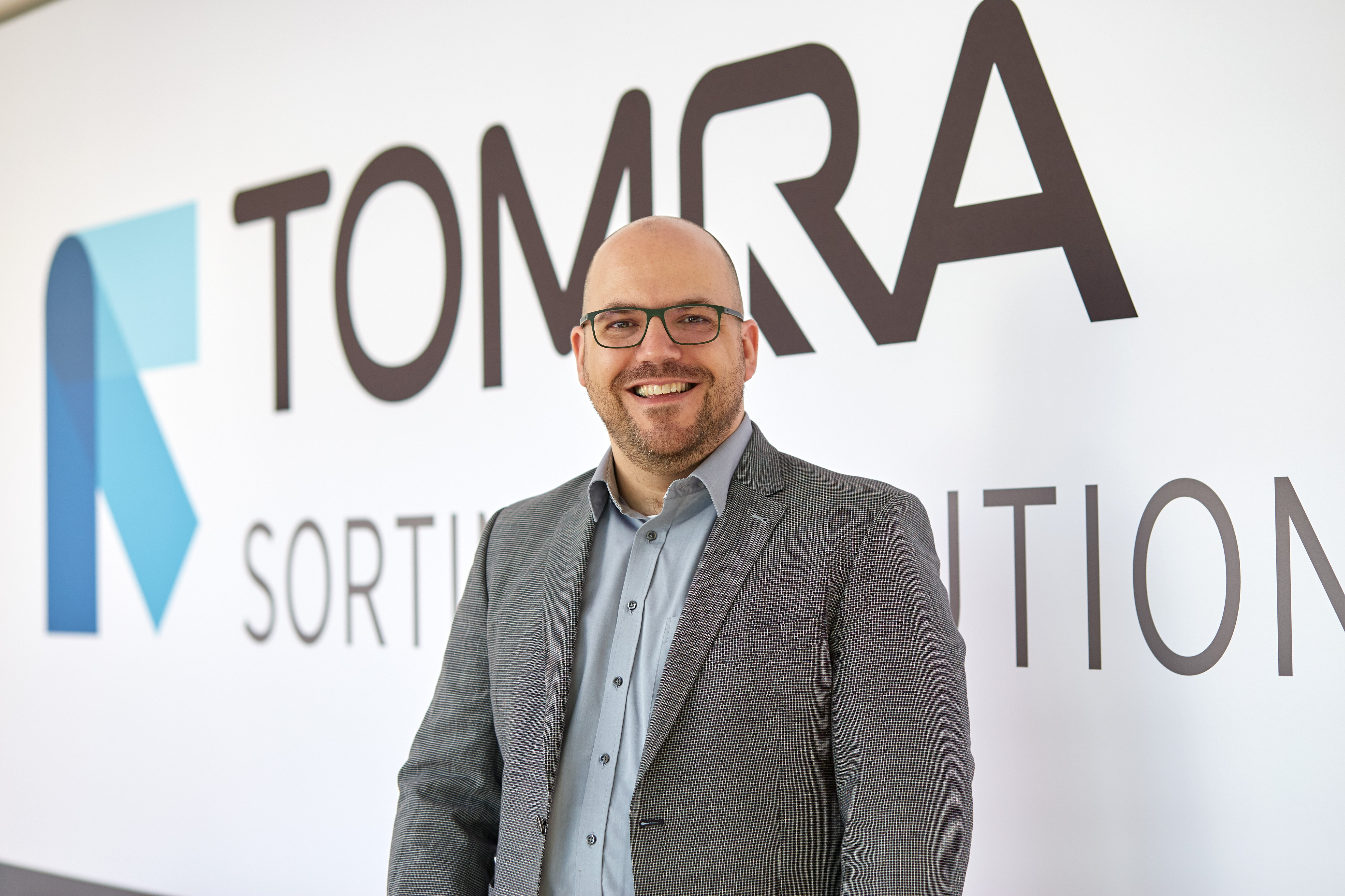 Frank van de Winkel, Business Development Manager Metals, Tomra Sorting Recycling (Foto: Tomra Sorting Recycling)