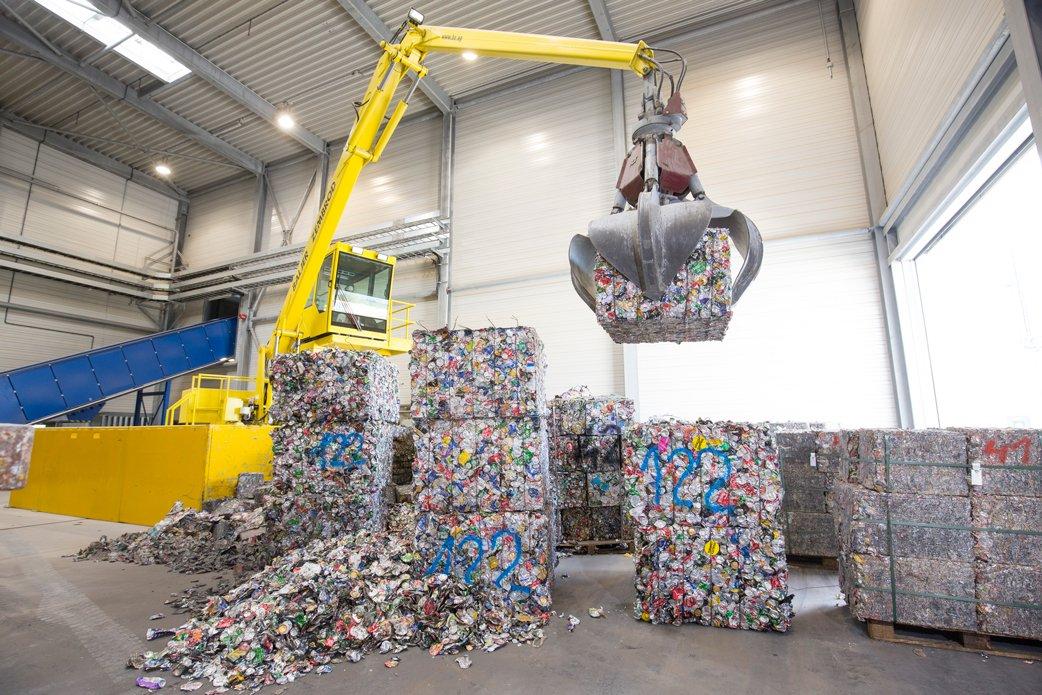UBC recycling - Hydro, Neuss - Foto: Hydro/Michael Rennertz