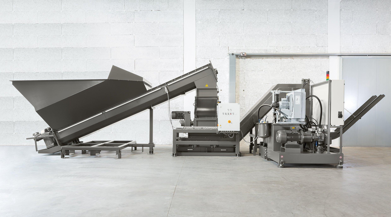 RUF Maschinenbau liefert maßgeschneiderte Brikettierlösungen für alle Anwenderbereiche – Walzwerke, Extruder, Zerspanungsbetriebe sowie Remelter bzw. Refiner. Bild: RUF