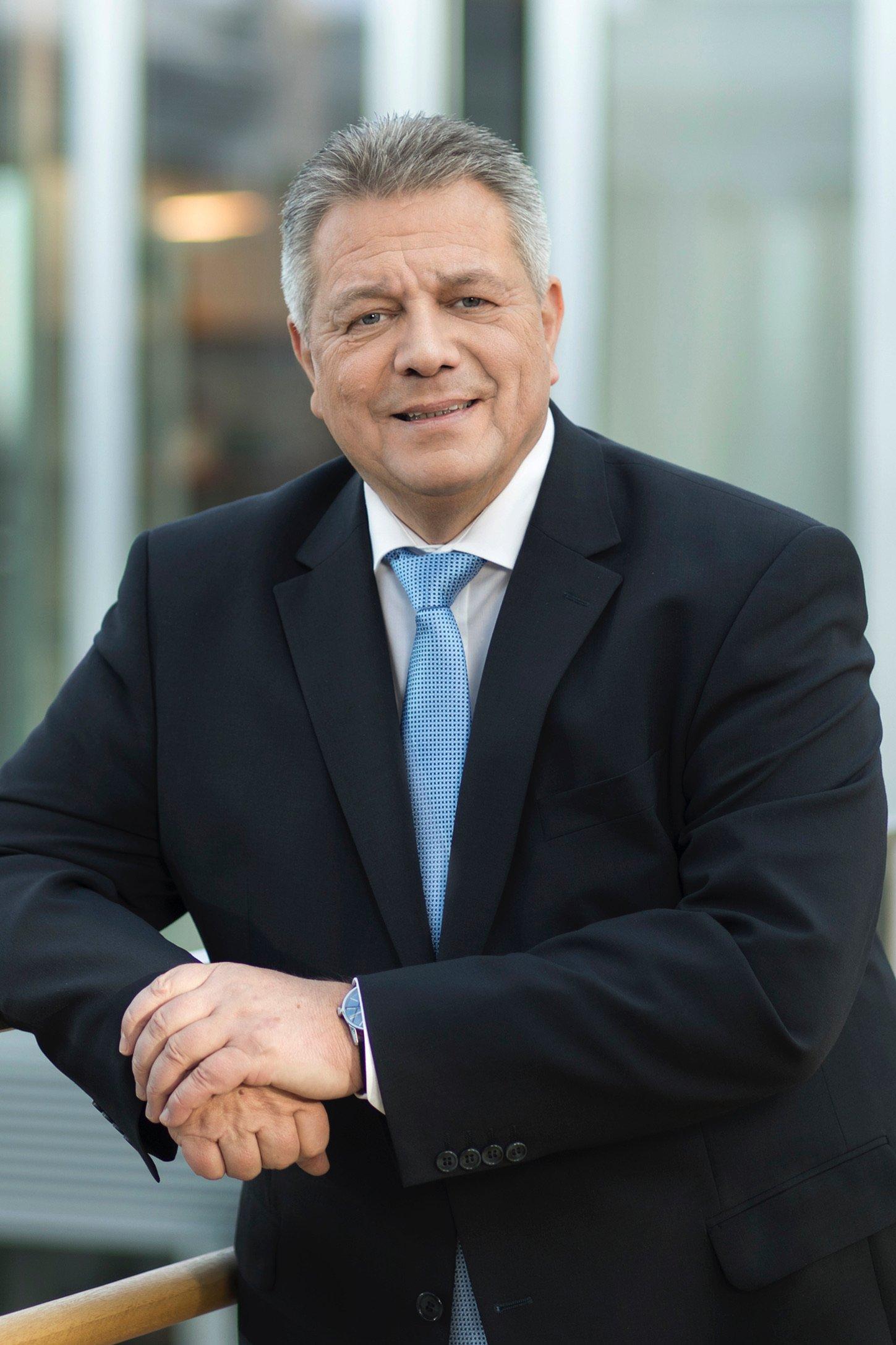Michael Heidemann, stellvertretender Vorsitzender des Zeppelin Konzerns und Vorsitzender des Aufsichtsrats der Zeppelin Baumaschinen GmbH und der Zeppelin Rental GmbH. Foto: Zeppelin