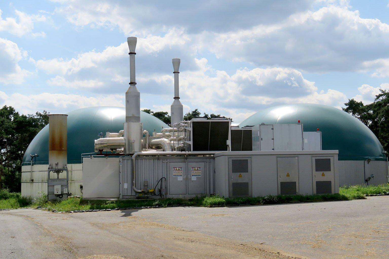 Zum 1. August 2018 hat die Nordmethan GmbH als Teil der Weltec-Biopower-Unternehmensgruppe eine Biogasanlage im niedersächsischen Südergellersen, Landkreis Lüneburg, aus der Insolvenz übernommen. Foto: Dennis Thomas