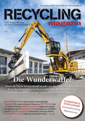 RECYCLIONG magazin 11/2019 Cover